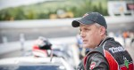 AUGUST 17 2013 - NASCAR Canadian Tire Series - Qualifying session at Riverside Speedway in Antigonish, Nova Scotia, Canada.